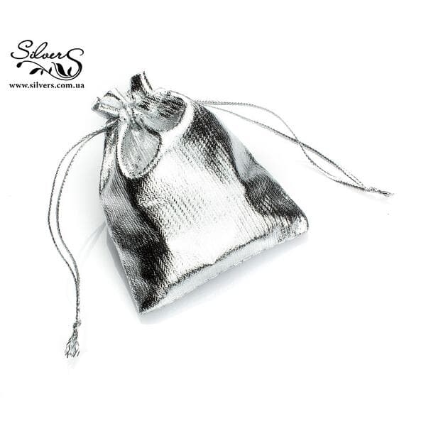 Подарочный мешочек серебро, С0009