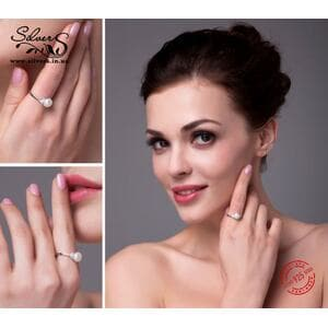 Кольцо с жемчугом, С2096