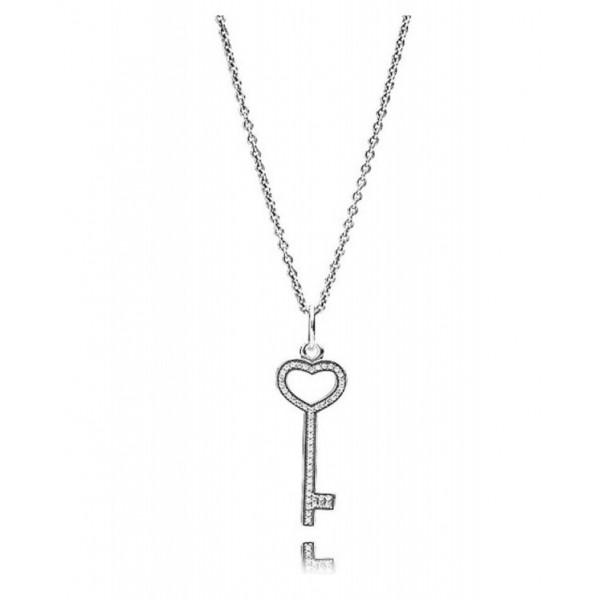 "Колье с кулоном ""Ключ от сердца"" , 2319"