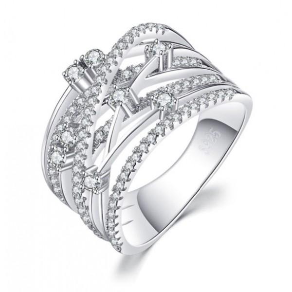 Кольцо с цирконием , С2399