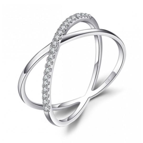 Кольцо с цирконием, 2401