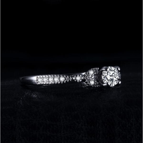 Кольцо с цирконием , 2409