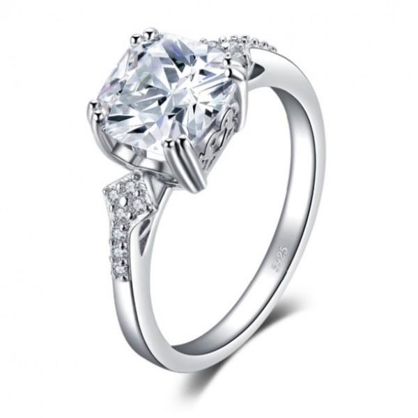 Кольцо с цирконием , С2411