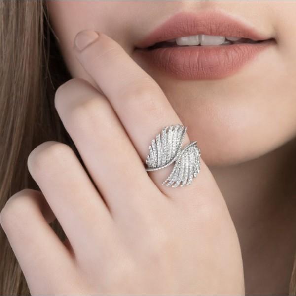 """Кольцо """"Волшебные перья"""" , 2570"""