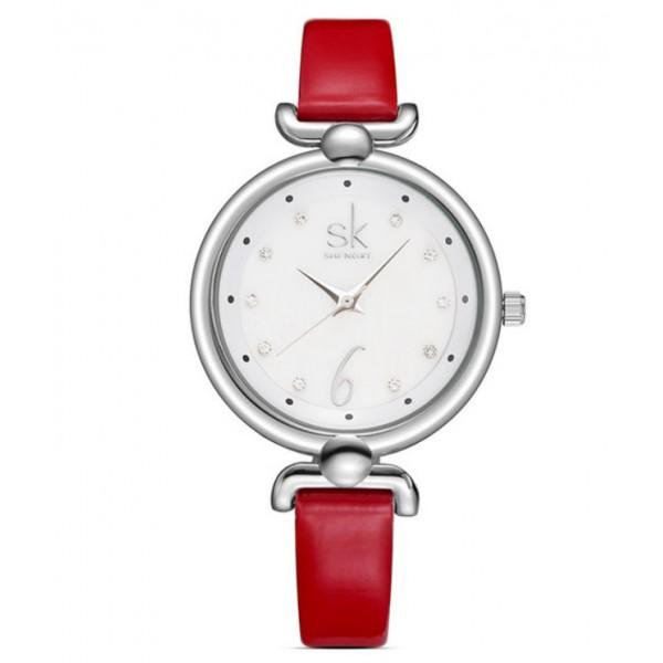 Часы SK красные, 2665