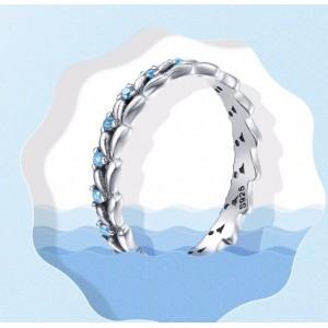 """Кольцо """"Голубые волны"""", С2789"""