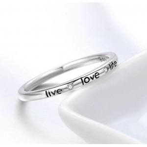 """Кольцо """"Live. Love. Life"""", С2793"""