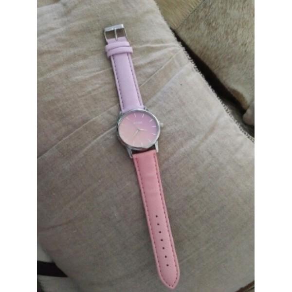 Часы Tangnade розовые с желтым, 2877
