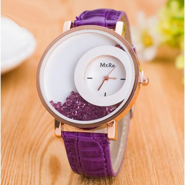Часы Hesiod фиолетовые, С2919