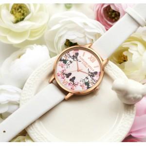Часы LVPAI бабочки, розовые, С2951