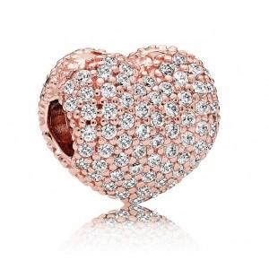 """Кліпса """"Відкрий моє серце """"Rose, С3239"""
