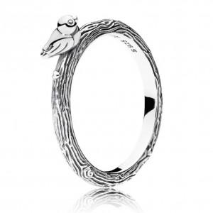 "Кольцо ""Птичка на ветке"" , С3353"