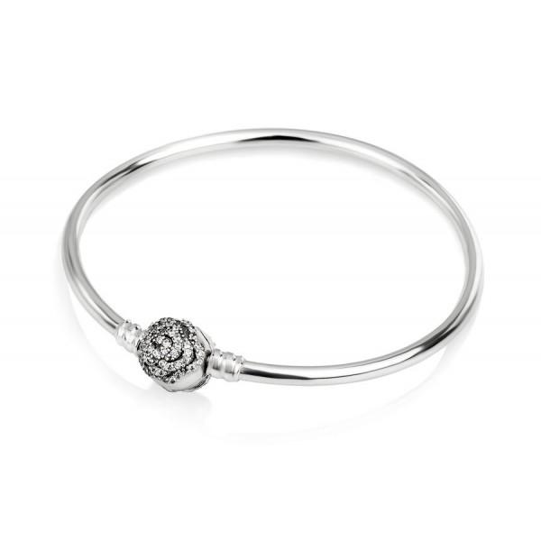 """Браслет bangle """"Сияющая роза"""" , С1490"""