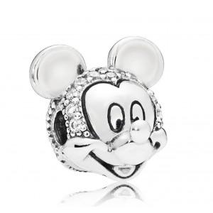 """Клипса """"Disney. Сияющий портрет Микки"""", С3609"""