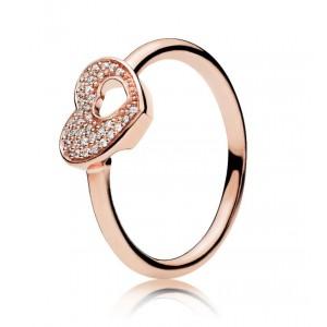 "Кольцо ""Сердце"" Rose , С4104"