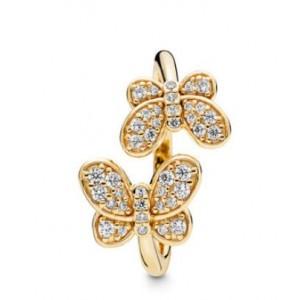 """Кольцо """"Ослепительные бабочки"""" Shine, С4305"""