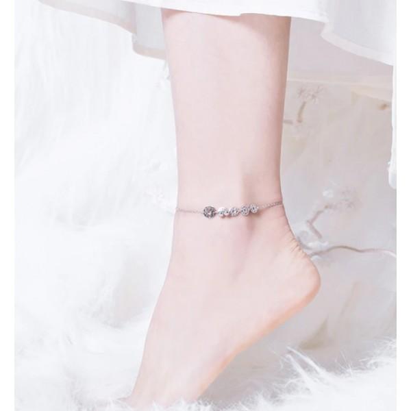 Браслет ланцюжок на ногу, С4847
