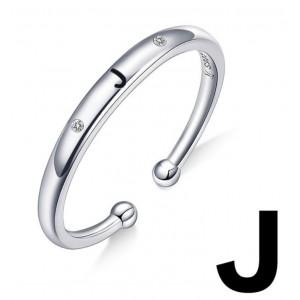 "Кольцо ""Буква J"", С4992"