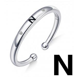 """Кільце """"Буква N"""", С4996"""