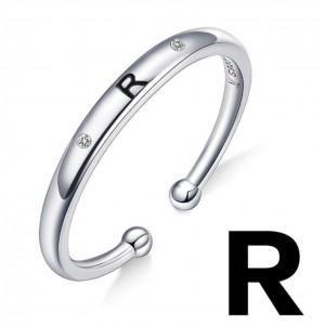 """Кольцо """"Буква R"""", С5000"""