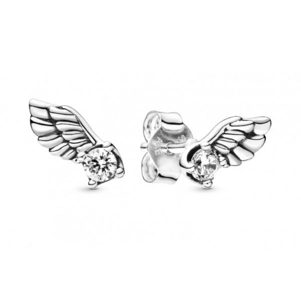 """Серьги """"Крылья ангела"""" , С5548"""