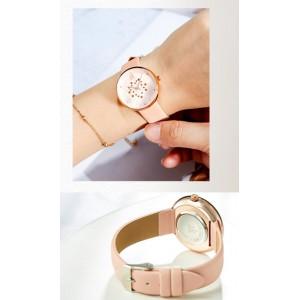 Женские часы SK, розовые, С5724