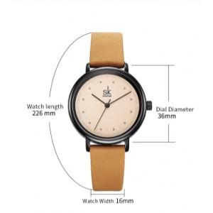 Женские часы SK, серые, С5727
