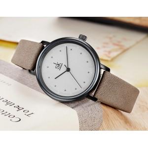 Женские часы SK, коричневые, 5728