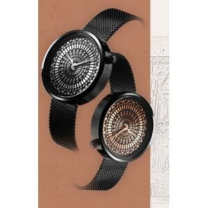 Жіночі годинники SK, чорні, С5732