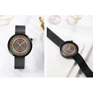 Женские часы SK, черные, С5733