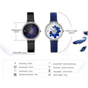 Женские часы SK, синие, 5738