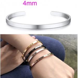 Женский браслет-манжета, 4 мм , С5751