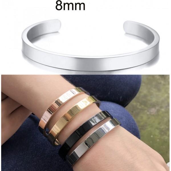 Жіночий браслет-манжета, 8 мм, С7330