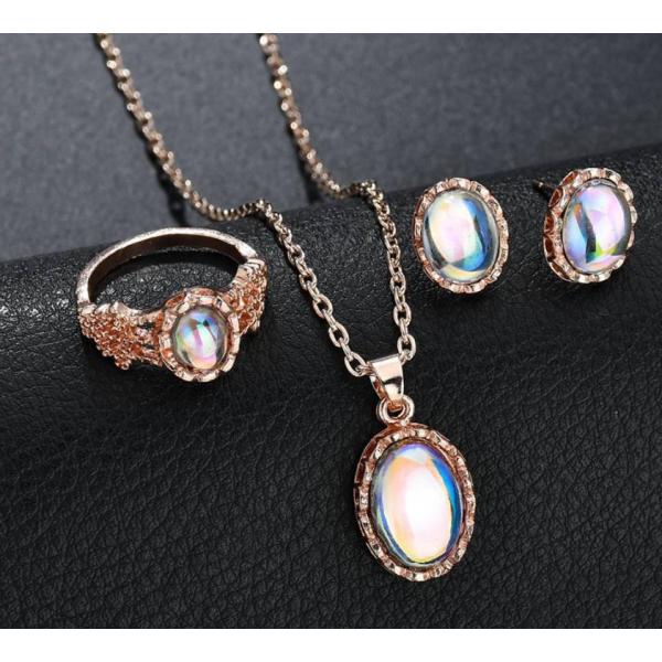 Женский комплект с камнями, С5966