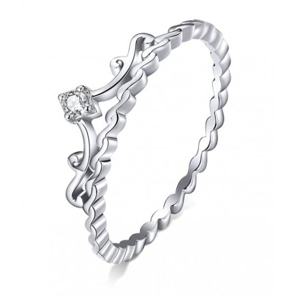 """Кольцо из серебра """"Тиара принцессы"""", С6027"""