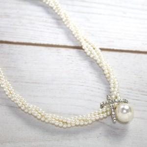 Кольє жіноче з перлами, С6180