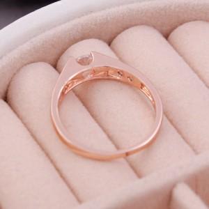 Женское кольцо, золотистое, С6418