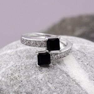 Жіноче кільце, сріблясте, С7341