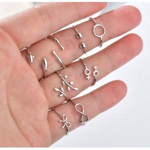 """Кольцо """"Vintage Geometric"""" Бесконечность, С6457"""