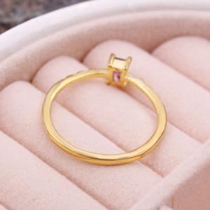 Женское кольцо, золотистое, С6925