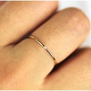 """Женское кольцо """"Minimal"""", С6955"""
