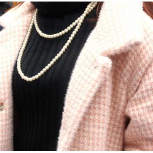 Длинное ожерелье с жемчугом, С6989