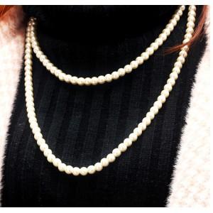 Довге намисто з перлами, С6989
