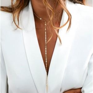 Жіночий кулон ланцюжок-краватка, С7079