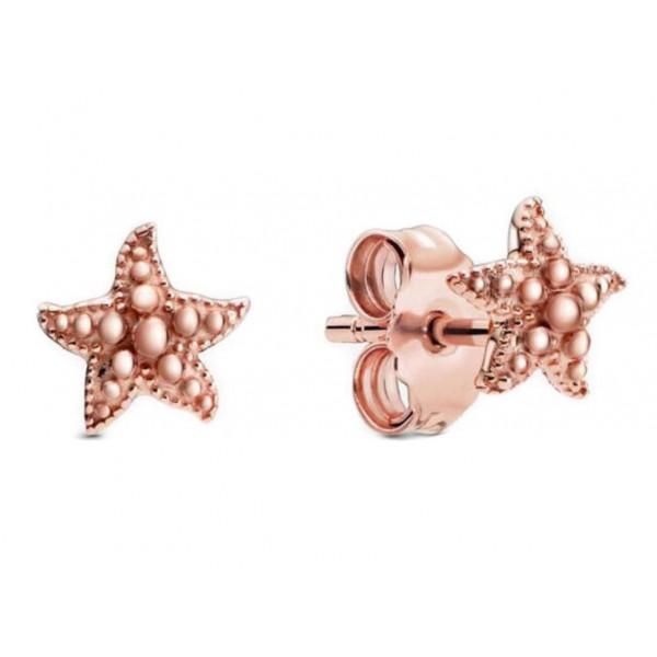 """Сережки """"Морська зірка """"Rose, C7112"""