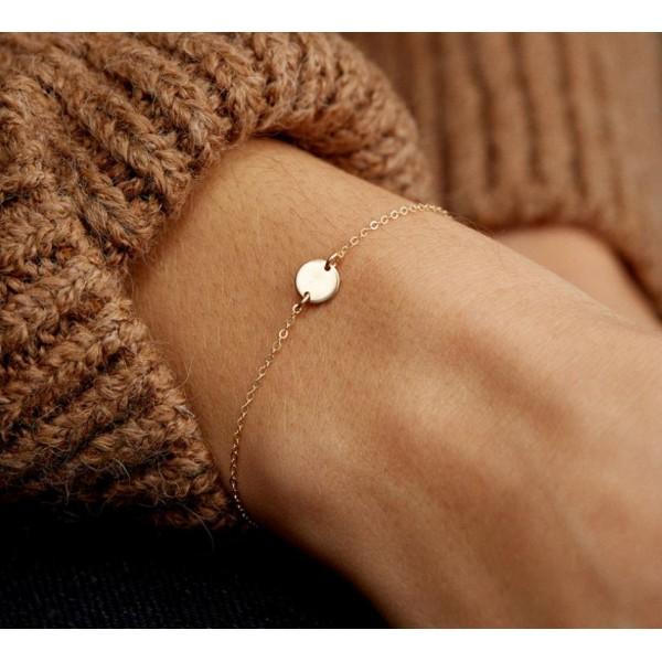 Жіночий браслет ланцюжок, С7717