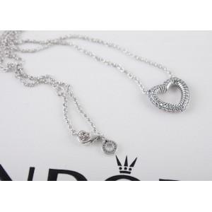 """Кольє зі срібла """"Відкрите серце"""", С8099"""