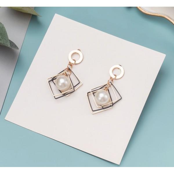"""Жіночі сережки """"Geometry"""", С8404"""
