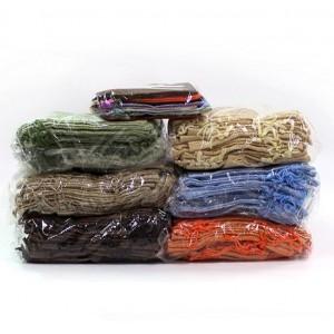 Подарочный мешочек льняной, черный, С8437