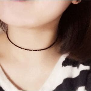 Ожерелье-чокер черный, С8540